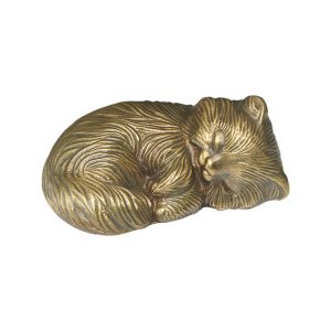 Sleeping Kitty Bronze Statue - Cat Memorial - Allied Veterinary Cremation in Manheim, PA