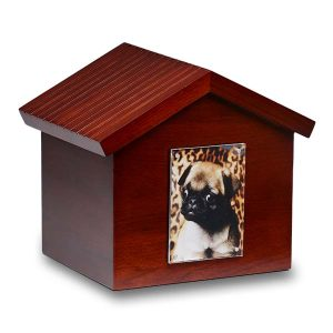 Dog House Photo Frame & Urn - Pet Urns - Pet Memorial - Allied Veterinary Cremation in Manheim, PA