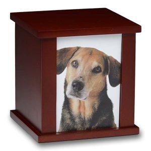 Wood Box Urn for Pets - Pet Memorial - Allied Veterinary Cremation in Manheim, PA