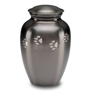 Cat Urn with paw prints - Pet Memorial - Allied Veterinary Cremation in Manheim, PA