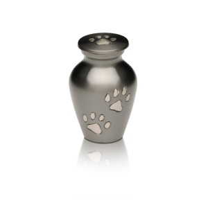 Pet Urn with Paw Prints - Pet Memorial - Allied Veterinary Cremation in Manheim, PA