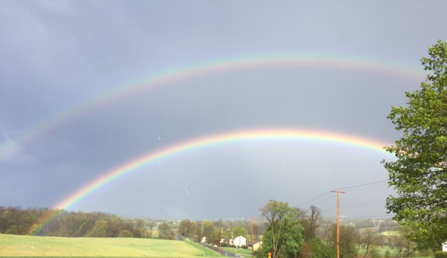 Double Rainbow from Allied Veterinary Cremation in Manheim, PA