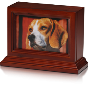 4x6 Frame with Urn Base for Pets - Pet Memorial - Allied Veterinary Cremation in Manheim, PA